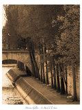 Le Bord de la Seine Prints by Marina Drasnin Gilboa