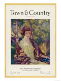 Town & Country, August 15th, 1923 Print