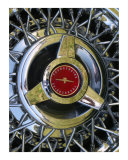 Wire Wheels Photographic Print by John Mazurek