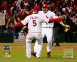 Albert Pujols And Scott Rolen Photo