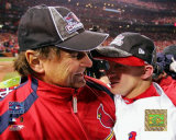 Tony LaRussa And David Eckstein Photo