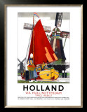 Holland Poster by Kenneth Shoesmith