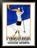 St Croix, Snow and Ski Posters