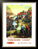 Yorkshire Coast Prints by 'b'