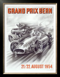 Bern Formula One Grand Prix Posters