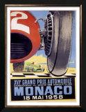 Monaco Grand Prix F1, c.1958 Posters by J Ramel
