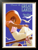 Canadian Pacific Great Lakes Cruise Print