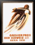 Grosser Preis Der Schweiz, Bern 1931 Prints by Ernst Ruprecht