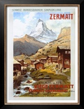 Swiss Alps, Zermatt Matterhorn Prints by Anton Reckziegel