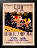 Derby de la Montagne Poster by Charles Gilbert