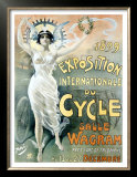 Exposition du Cycle, c.1899 Prints by  PAL (Jean de Paleologue)