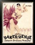 Josephine Baker Revue Prints by Hans Neumann