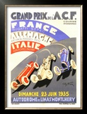 Grand Prix de l&#39;A.C.F., 1935 Posters by Geo Ham