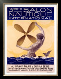 3rd Salon Nautique International Prints by Sandy Hook