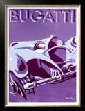 Bugatti Posters by Gerold 