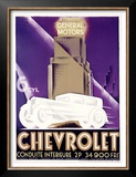 Chevrolet Prints by Alfred Cardinaux