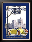 Automobile Show, Buffalo Posters by Claybaugh 