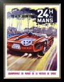 24 Hour du le Mans Ferrari GP Print