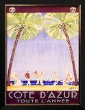 Cote d'Azur Posters by Jean-Gabriel Domergue