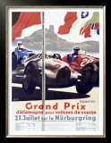 Grand Prix d'Allemagne Posters by Alfred Hierl