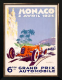 Monaco Grand Prix F1 Race, c.1934 Prints by Geo Ham