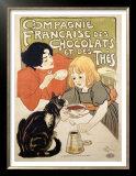 Compagnie Francaise des Chocolats et Thes Posters by Théophile Alexandre Steinlen