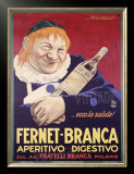 Fernet-Branca Print by Achille Luciano Mauzan