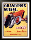Grand Prix Swiss Posters by Charles Loupot