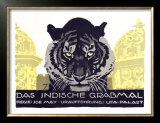 Das Indische Grabmal Posters by Ludwig Hohlwein