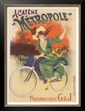 Acatene Metropole Posters by Lucien Baylac