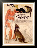 Clinique Cheron Poster by Th&#233;ophile Alexandre Steinlen