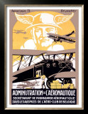 Administration de l'Aeronautique Posters by Michielssen