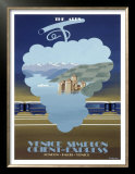 Venice Simplon, the Alps Posters by Pierre Fix-Masseau