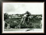 Husqvarna MX Motorcycle Prints by Giovanni Perrone