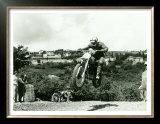 Husqvarna MX Motorcycle Prints by Giovanni Perrone