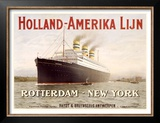 Holland to America Line Posters