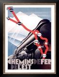 Chemin de Fer de l'Est Posters by  Theodoro