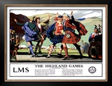 LMS, The Highland Games Posters by Christopher Clark