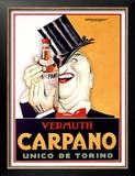 Vermuth Carpano, Unico de Torino Posters by Achille Luciano Mauzan