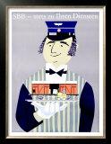 SBB, Stets Zu Ihren Diensten Poster by Louis-Auguste Brun