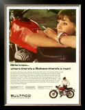 Bultaco Campera Motorcycle Ad Prints