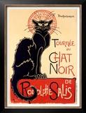 Tournee du Chat Noir Prints by Théophile Alexandre Steinlen