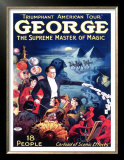 George the Supreme Master of Magic Prints