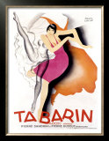 Tabarin Posters by Paul Colin