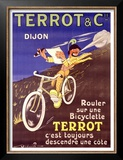 Terrot and Cie Motorcycle Prints by Dreville