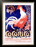 Cocorico Prints by Jules-Alexandre Grün
