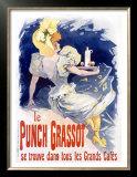 Punch Grassot Print by Jules Chéret