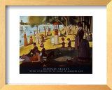 Sunday on la Grande Jatte, 1884 Art by Georges Seurat