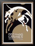 Meehans Leaping Hound Dog Circus Print by Alfonso Iannelli