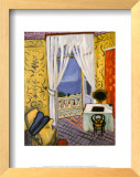 Interior with a Violin Case Poster by Henri Matisse
